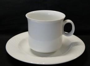 Hutschenreuther Scala Bianca - Weiss - glasiert: Kaffeetasse 2-tlg. 0,20 UT = 16 cm ltr.