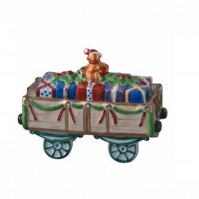 Hutschenreuther Nostalgische Weihnachten - Weihnachtsdorf - Porzellanzug: Geschenkewagen
