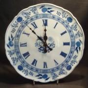 Hutschenreuther Zwiebelmuster: Uhr rund 33 cm