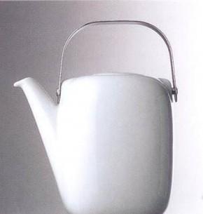 Rosenthal Minikännchen uni - weiss: Suomi H= 8,5 cm; Timo Sarpaneva