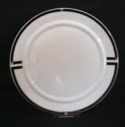 Rosenthal Cupola Nera: Speiseteller 26 cm
