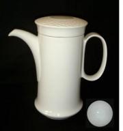 Hutschenreuther Scala Biskuit Seta Weiss - Weiß: Kaffeekanne 1,10 ltr.