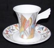 Rosenthal Jahres- / Künstler- Sammeltassen - Mythos: Espressotasse 2-tlg. Nr. 6 JANE - OSBORN SMITH