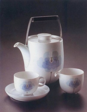 Rosenthal Century Blaue Blume: Dessertschale/Suppen-Obertasse 0,34 ltr. 11 cm