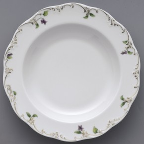 Rosenthal Monbijou Petite Violette: Suppenteller 23 cm