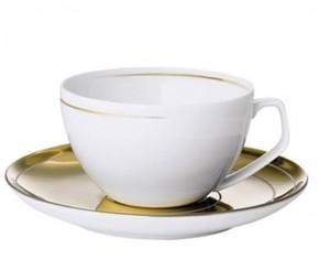 Rosenthal TAC 02 Dynamic Gold: Espressotasse 2-tlg. 0,12 ltr.; Untertasse = Gold + sandgestrahlt