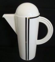 Rosenthal Cupola Nera: Kaffeekanne f. 6 Personen 1,22 ltr.