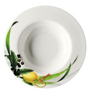 Rosenthal Brillance Les fruits du Jardin: Suppenteller 23 cm / Fa