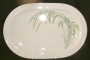 Rosenthal Duo Indian Rice: Platte - oval 33 x 22 cm
