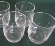 Rosenthal Duo - klar, 1 Stufe im Kelch: Schnapsglas H = 6,2 cm; Durchmesser = 4,5 cm