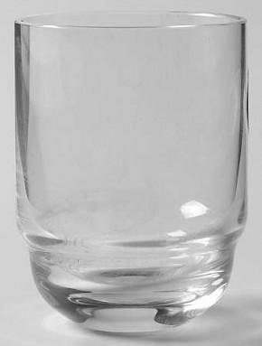 Rosenthal Duo - klar, 1 Stufe im Kelch: Whiskey / Wasserbecher H = 8,2 cm; Durchmesser = 6,1 cm