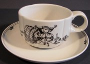 Rosenthal Form ohne Namen Till Eulenspiegel: Teetasse 2-tlg. 0,20 ltr.