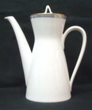 Rosenthal Form 2000 Gala Blau: Kaffeekanne H = 20,5 cm