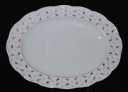 Rosenthal Monbijou Blütenteppich: Platte oval 32 x 24 cm