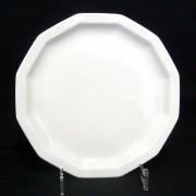 Rosenthal Polygon Weiss - Weiß: Frühstücksteller 19 cm