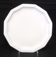 Rosenthal Polygon Weiss - Weiß: Speiseteller 26 cm