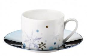 Rosenthal Solitaire Snowflake: Kombitasse 2-tlg. 0,23 ltr. UT = 15,5 cm - Blue
