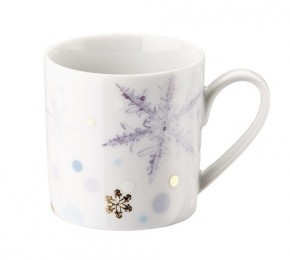 Rosenthal Solitaire Snowflake: Espresso-Obertasse 0,07 ltr.