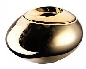 Rosenthal Solitaire Snowflake: Magic-Box ⌀ = 14 cm Gold