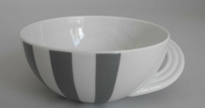 Rosenthal Porzellan CUPOLA STRADA Kaffeetasse Untertasse Unterteller