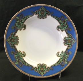 Rosenthal Pearlchina Aida Mayfair design Nina Campbell: Suppenteller / Plate deep 23 cm