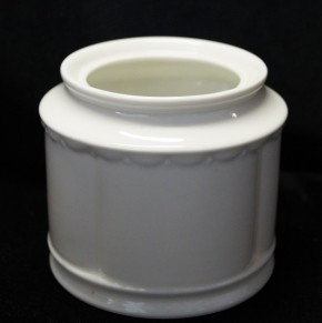 Rosenthal Anna Weiss - Pearl China: Zuckerdose 6 Pers. 0,34 ltr. - ohne Deckel!