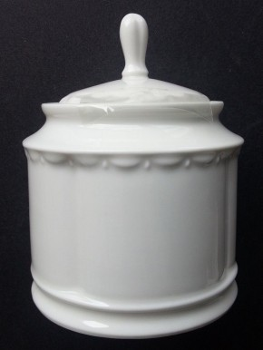 Rosenthal Anna Weiss - Pearl China: Zuckerdose 6 Pers. 0,34 ltr.