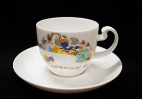 Rosenthal Asimmetria Entführung aus dem Serail: Espresso-/Mokkatasse 2-tlg. 0,11 ltr. UT = 11,5 cm