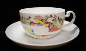 Rosenthal Asimmetria Entführung aus dem Serail: Teetasse 2-tlg. 0,27 ltr. UT = 15,5 cm