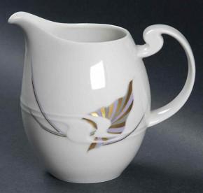 Rosenthal Asimmetria Goldblume: Milchkännchen 0,28 l groß