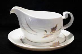 Rosenthal Asimmetria Goldblume: Sauciere 2-tlg. 0,55 ltr. UT = 18,5 cm