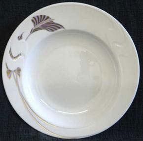 Rosenthal Asimmetria Goldblume: Suppenteller 23 cm