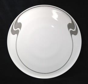 Rosenthal Asimmetria Grauraster auf Weiss: Tortenplatte 32 cm