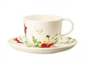Rosenthal Brillance Fleurs Sauvages: Espresso-/Moccatasse 2-tlg. 0,08 ltr. UT = 12 cm