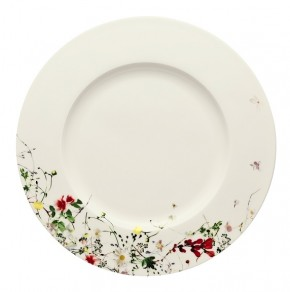 Rosenthal Brillance Fleurs Sauvages: Speiseteller 28 cm / Fahne