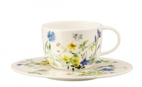 Rosenthal Brillance Fleurs des Alpes: Espresso-/Moccatasse 2-tlg.