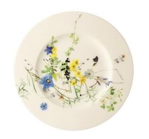 Rosenthal Brillance Fleurs des Alpes: Frühstücksteller 19 cm Fa