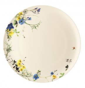 Rosenthal Brillance Fleurs des Alpes: Speiseteller 27 cm Coup