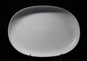 Rosenthal Century Cumulus: Platte oval / Beilage / Milch- und Zuckertableau 24 x 17,5 cm