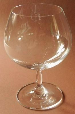 Rosenthal Chiara glatt: Cognac-Schwenker H = 15,2 cm; Durchmesser= 7,3 cm;