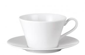 Rosenthal Culture Weiss - Weiß: Tee-/Cappuccinotasse 2-tlg. 0,23 ltr. - UT = 15 cm