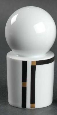 Rosenthal Cupola Nera: Salzstreuer