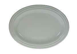 Rosenthal Cupola Weiss - Weiß: Platte 37 (36,5 x 26,5 cm =Fisch/Obstplatte)