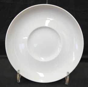 Rosenthal Duo Weiss: Suppen-Untertasse 15,6 cm