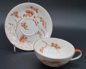 Rosenthal Else Hänsel und Gretel: Teetasse 2-tlg. Durchm.: 10,5 cm; UT = 15 cm