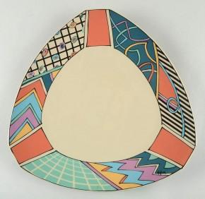 Rosenthal Flash One: Platte rund 36 cm (= Tortenplatte)