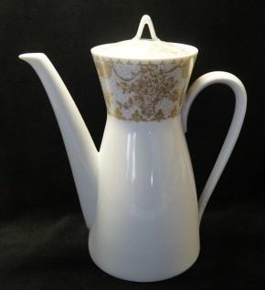 Rosenthal Form 2000 Idyll gold: Kaffeekanne für 6 Personen