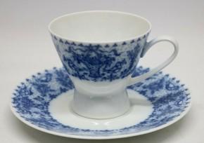 Rosenthal Form 2000 Idyll blau - kobalt: Kaffeetasse 2-tlg.