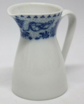 Rosenthal Form 2000 Idyll blau - kobalt: Milchkännchen für 6 Personen