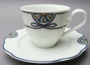 Rosenthal Grace Society - Pearl China: Kaffeetasse 2-tlg. UT = 15 cm